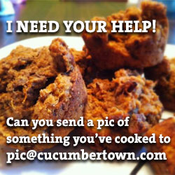 Can you send a pic of something youve cooked to pic@cucumbertown.com