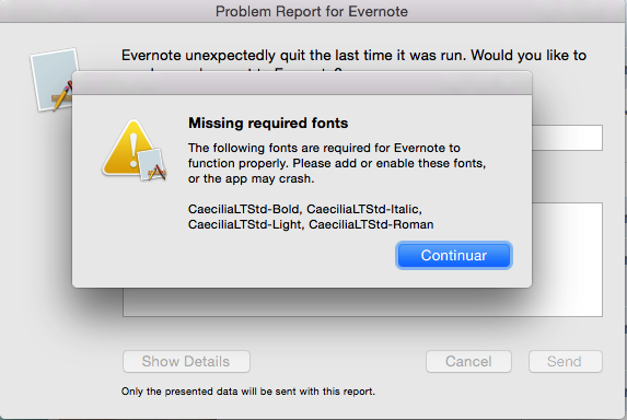 If you are storing important info in Evernote, think twice